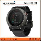 【福笙】GARMIN fenix 5X 整合專業全彩地圖的強悍戶外腕錶 (藍寶石 + DLC 鍍膜)