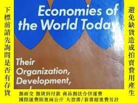 二手書博民逛書店Economies罕見of the World today【32