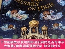 二手書博民逛書店原版立體書ding罕見dong!merrily on high(pop up)Y439868 francesc