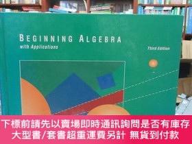 二手書博民逛書店BEGINNING罕見ALGEBRA with ApplicationsY17268 本書編輯 本書出版 出