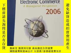 二手書博民逛書店Electronic罕見Commerce :A Managerial Perspective(Pearson In
