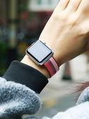 apple watch手錶帶  精織尼龍手錶帶apple watch1/2/3代蘋果42/38mm潮iwatch女iphone  酷動3C