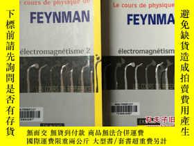 二手書博民逛書店Le罕見cours de physique de Feynman