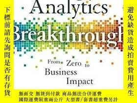 二手書博民逛書店Google罕見Analytics BreakthroughY256260 Feras Alhlou Wile