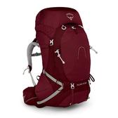 [Osprey] 女 Aura AG 65 專業登山背包 65L 輻射紅 (10001441GR-WS) 秀山莊戶外用品旗艦店