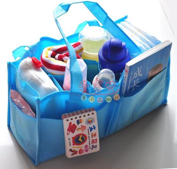◎愛寳貝◎A124100最新加厚升級款環保簡易媽咪萬用收納袋/分隔包/2色可挑款