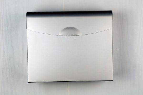 固佳 太空鋁 方形廁紙盒