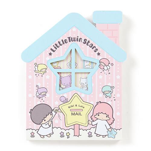 《Sanrio》雙星仙子可愛房屋造型便條紙 667064N