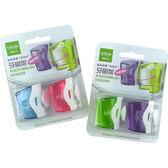 【居家x旅行 兩用】UdiLife 專利簡易型衛生牙刷架-2入組◆四季百貨◆