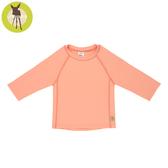 德國Lassig-嬰幼兒抗UV長袖泳裝上衣-琥珀粉