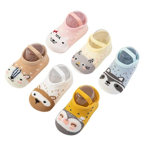 嬰兒襪 童襪 動物防滑襪 地板襪 室內鞋-JoyBaby