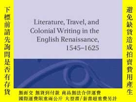 二手書博民逛書店Literature,罕見Travel And Colonial Writing In The English R