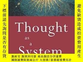 二手書博民逛書店Thought罕見As A System-思想作為一個系統Y436638 David Bohm Routled