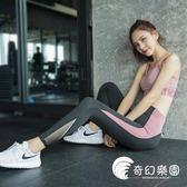 運動褲-瑜伽褲運動緊身女彈力緊身跑步提臀訓練速干高腰薄款健身褲-奇幻樂園