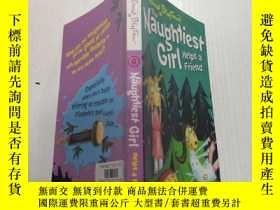 二手書博民逛書店The罕見naught rest girl helps a friend:這個無憂無慮的女孩幫助朋友.Y200