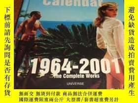 二手書博民逛書店2手英文罕見The Pirelli Calendar 1964-