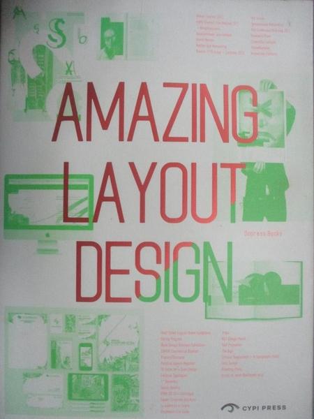 【書寶二手書T6/廣告_JCP】Amazing Layout Design_Dopress Books