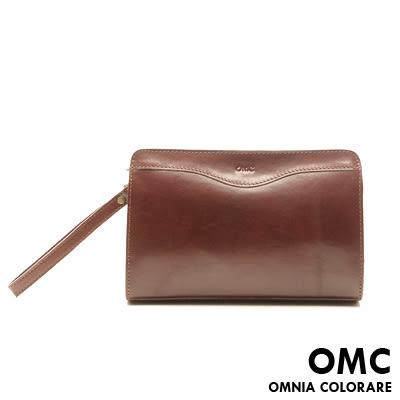 OMC - 原皮魅力款真皮功能手拿包