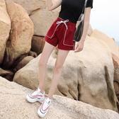 JNZZI2020春夏運動短褲女韓潮鬆緊時尚百搭休閒寬鬆顯瘦學生熱褲
