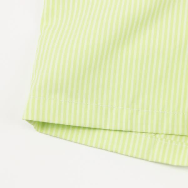 【愛的世界】直條紋五分褲/6歲-台灣製- ★春夏下著 夏出清