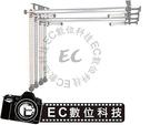 【EC數位】攝影棚套裝 B-4W B4W 鏈條升降型背景架 手動四軸背景架 背景軸 攝影必備