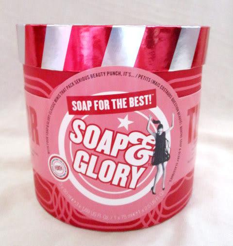 *禎的家* 英倫復古 SOAP & GLORY  超Q 限量招牌保養禮盒組~ 送禮NO1