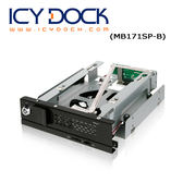 "ICY DOCK TurboSwap 無抽取盤 3.5"" SATA 硬碟抽取盒 (MB171SP-B)"