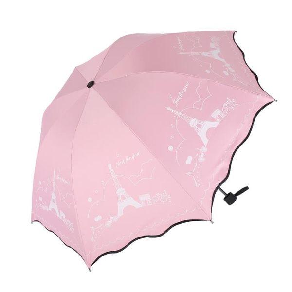晴雨傘兩用女韓國小清新三折疊遮陽超大號太陽傘 母親節禮物