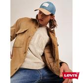 Levis 男款 復古全刷毛大學T / Fleece 機能保暖 / Serif Logo