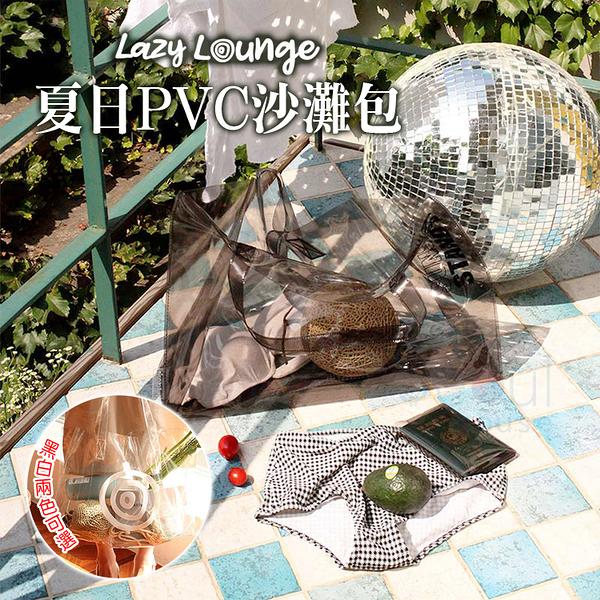 韓國LUCALAB Lazy Lounge 夏日PVC沙灘包 首爾的家