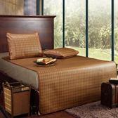 涼席1.5m床 1.8米床藤席雙人2.0m可折疊1.2單人床 0.9米夏天 igo 薔薇時尚