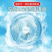 USB冷風機 渦輪空氣循環扇電風扇家用宿舍台式小風扇迷你靜音節能對流電壓220V 維多