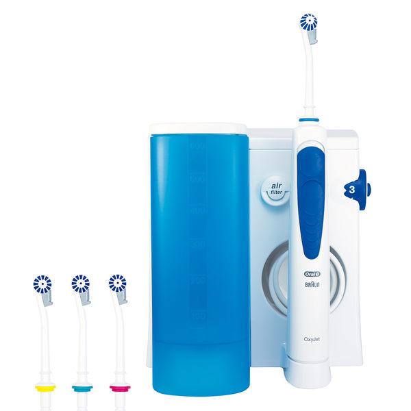 歐樂B Oral-B 高效活氧沖牙機MD20送D12W電動牙刷+極速抗敏90g牙膏