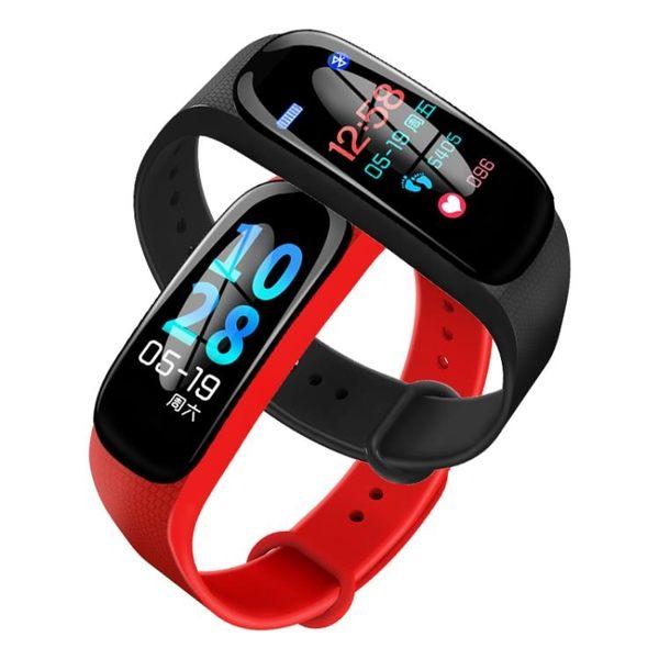 運動手環智能彩屏防水手錶測心率血壓多功能男女士通用睡眠游泳