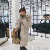冬新款ins韓版中長款羽絨棉服女學生棉衣面包服棉襖加厚外套  潮流衣舍