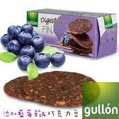 Gullon穀優藍莓巧克力消化餅265g 愛家嚴選 純素口糧 全素好吃零食 健康素食點心 原裝進口