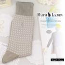 大盤大】Ralph Lauren 男襪 配件 中筒襪 長筒襪 24cm 圖案襪子 格子 百貨專櫃 休閒襪  交換禮物