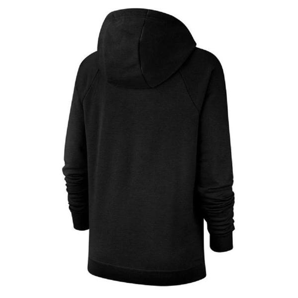 【現貨】NIKE Pullover Hoodie 女裝 長袖 連帽 帽T 休閒 刷毛 黑【運動世界】BV4127-010