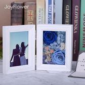 情人節進口永生花相框禮盒玫瑰花送女友生日結婚禮物擺件diy【奇貨居】