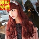 長假髮-齊瀏海長捲髮甜美可愛女美髮用品3色69o41【巴黎精品】
