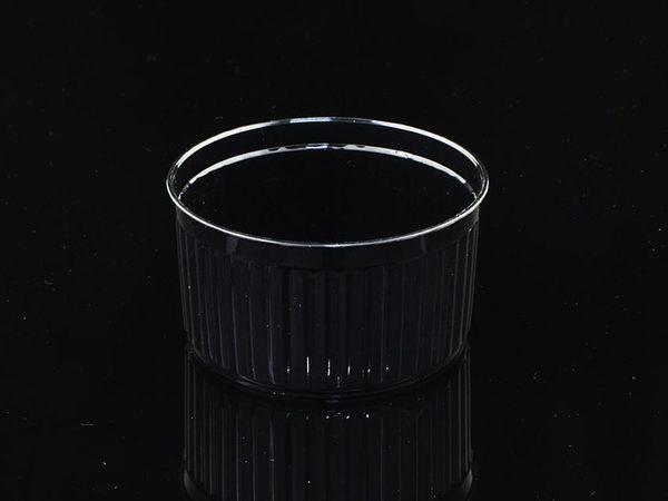 10入 130cc 波紋杯 波浪杯 附蓋  D7440