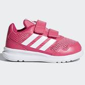 Adidas AltaRun 童鞋 小童 慢跑 休閒 魔鬼氈 粉 【運動世界】 CQ0029