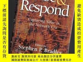 二手書博民逛書店SENSE罕見AND RESPOND:CAPTURING VAL