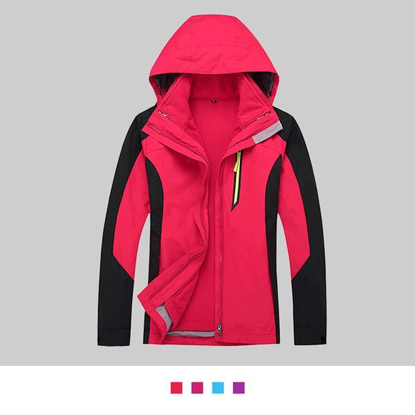 【晶輝團體制服】SS1624*女生腰身款經典二件式防風防潑水衝鋒外套(似GORE-TEX)可單買/ 代印公司LOGO
