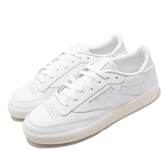 【海外限定】Reebok 休閒鞋 Club C 85 白 米白 女鞋 小白鞋 運動鞋 【ACS】 CN7753