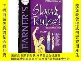 二手書博民逛書店俚語規則罕見英語學習者使用指南 Slang Rules! A PracticalY335736 奧林哈格瑞夫