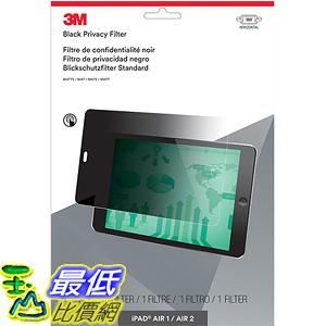 [美國直購] 3M PFTAP002 螢幕防窺片 Privacy Filter for iPad Air 1/iPad Air 2 - Landscape