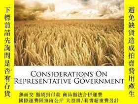 二手書博民逛書店Considerations罕見On Representative GovernmentY256260 Joh