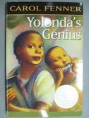 【書寶二手書T1/原文小說_KNT】Yolonda s genius_Carol Fenner, Carol Fenner