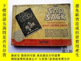 二手書博民逛書店【英文原版漫畫本】The罕見Sad Sack:Cartoons of Army Life by Sgt. Geor
